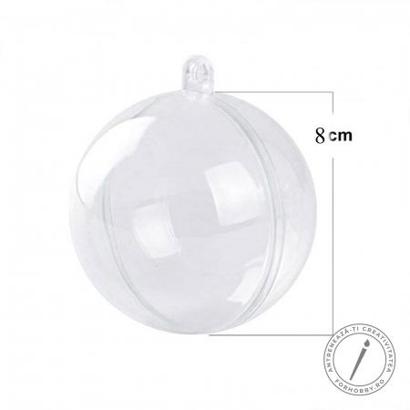 Glob plastic 2 părți cu disc despărțitor - Mărimi diverse4