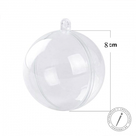 Glob plastic 2 părți cu disc despărțitor - Mărimi diverse2