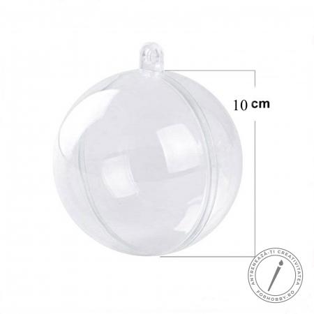 Glob plastic 2 părți cu disc despărțitor - Mărimi diverse5