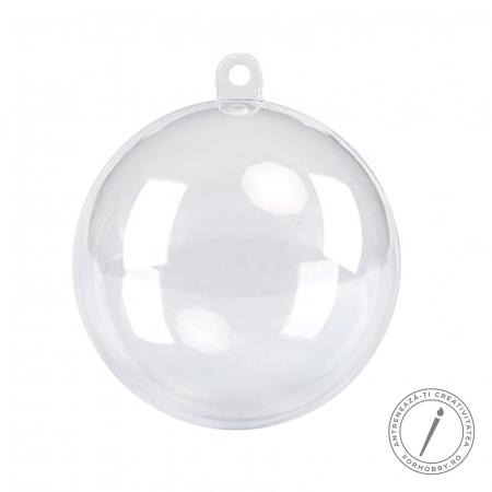 Glob plastic 2 părți cu disc despărțitor - Mărimi diverse0
