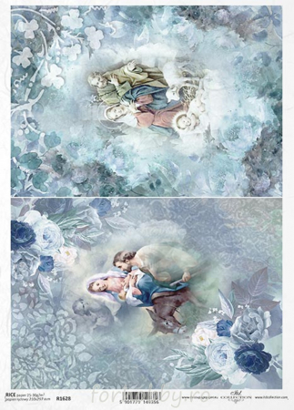 Hârtie de orez A4 - Scena nașterii - R16280