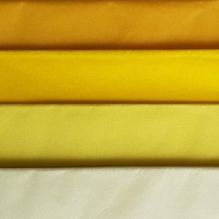 Hartie de matase, coala 50x70 cm, galben soare1