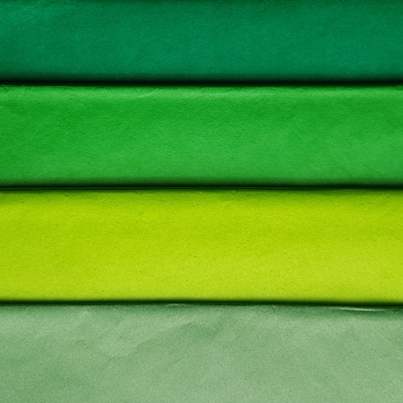 Hartie de matase, coala 50x70 cm, verde padure1
