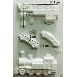 Matrita pentru turnat - Mijloace transport 3D1