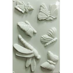 Matrita pentru turnat - Fluturi si libelule0
