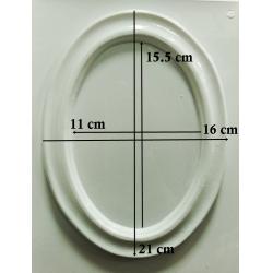 Matrita pentru turnat-  Rama ovala1