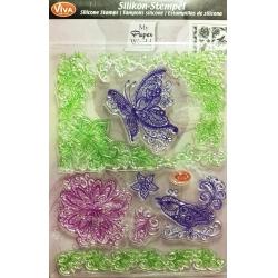 Stampila silicon - Fluture
