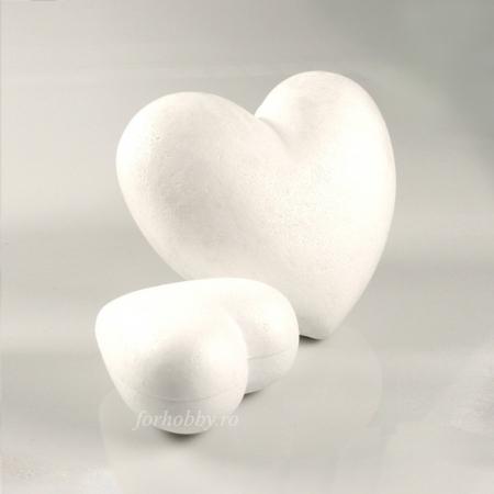 Inimă din polistiren premium - Mărimi diverse0