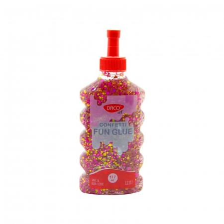 Lipici lichid colorat cu confetti - Lipiciu' Confetticiu - 177 ml1