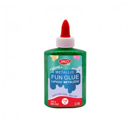 Lipici lichid colorat metalizat - Lipiciu' Metaliciu - 118 ml7