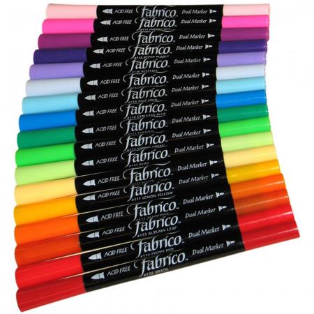 Marker pentru textile 2 capete Fabrico0