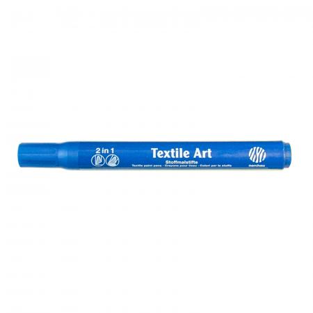 Marker pentru textile Nerchau - Albastru1
