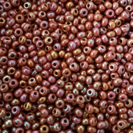 Margele nisip Preciosa Ornela 10/0 - 40 g - Maro opac irizant 146000