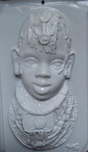 Matrita pentru turnat- Masca africana0