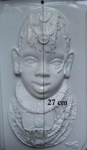 Matrita pentru turnat- Masca africana1