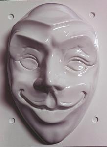 Matrita pentru turnat - Masca Joker0