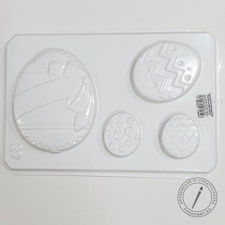 Matriță pentru turnat - Ouă de Paști1