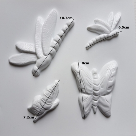 Matrita pentru turnat - Insecte1