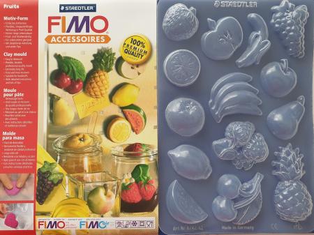 Matrita pentru turnat Fimo - Fructe0
