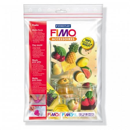 Matrita pentru turnat Fimo - Fructe1