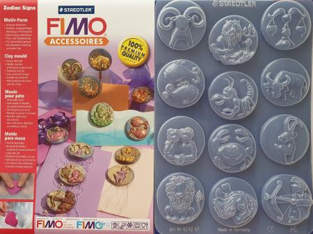 Matrita pentru turnat Fimo - Semne Zodiacale