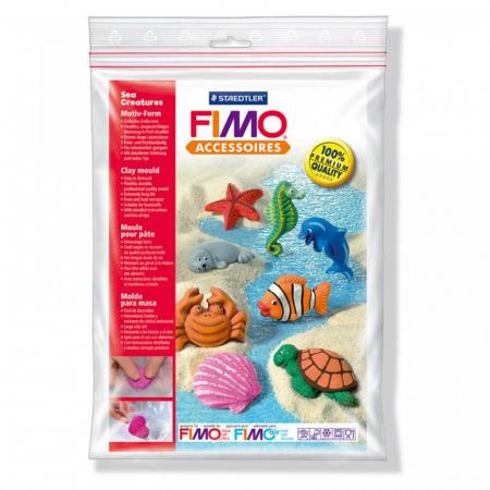 Matrita pentru turnat Fimo - Creaturi marine1