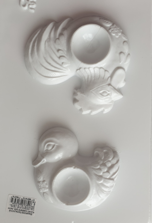 Matrita pentru turnat - Suport oua - Rata si cocos1