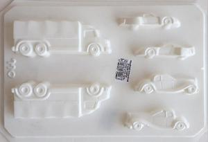 Matrita pentru turnat - Mijloace transport 3D0