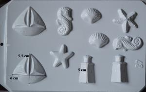 Matrita pentru turnat - Modele marine1