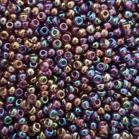 Margele nisip Preciosa Ornela 10/0 - 40 g - Mov transparent irizant 210600