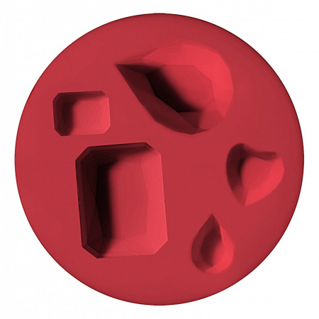 Mulaj din silicon FIMO - Pietre semipretioase0
