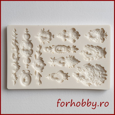 Mulaj din silicon - Gaura de cheie ornamental0
