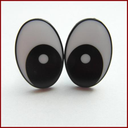 Ochi pentru papusi ovali - 11 x 8 mm0