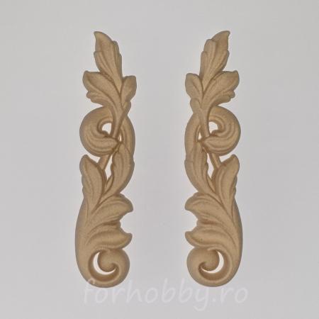 Ornament din lemn termoplastic - Colțuri opuse0