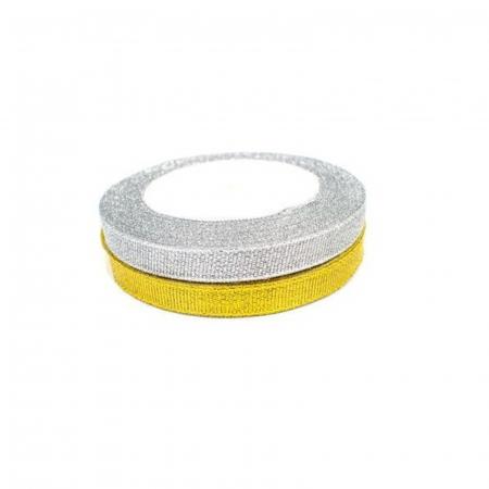 Panglică Lurex - Auriu / Argintiu3