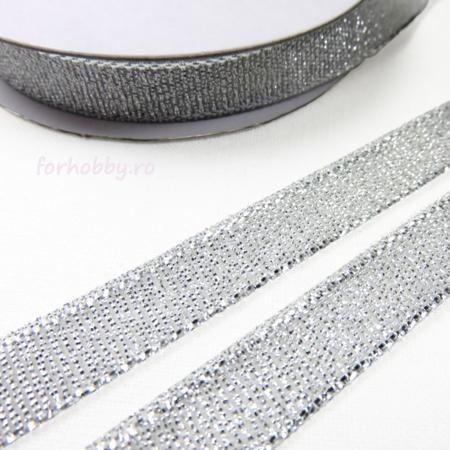 Panglică Lurex - Auriu / Argintiu1