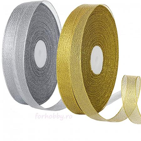 Panglică Lurex - Auriu / Argintiu0