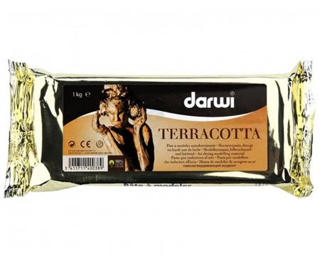 Pastă pentru modelaj Darwi Terracotta 500 g1