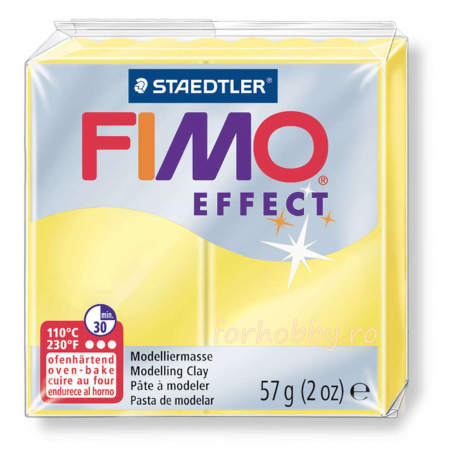 Pasta modelaj polimeric Fimo Effect Translucent 57 g