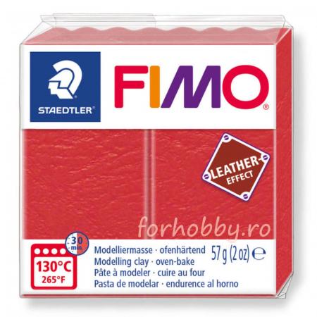 Pasta modelaj polimeric Fimo Effect Piele 57 g0