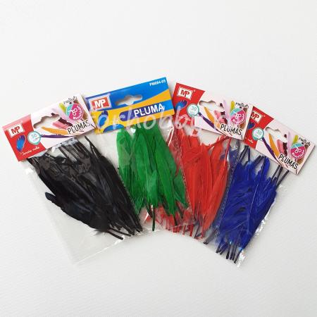 Pene decorative de gâscă - Diverse culori1