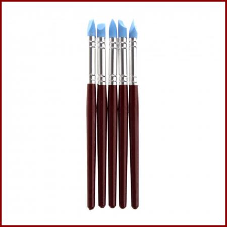 Pensula silicon - Set 5 modele2
