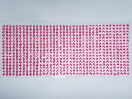 Perle jumatati 5mm - Roz perlat1