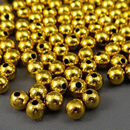 Perle plastic 6 mm - Perle aurite1