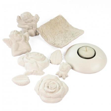 Praf ceramic alb1