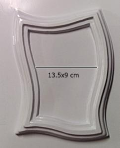 Matrita pentru turnat- Rama ondulata1