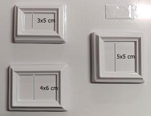 Matrita pentru turnat- Rame dreptunghiulare mici