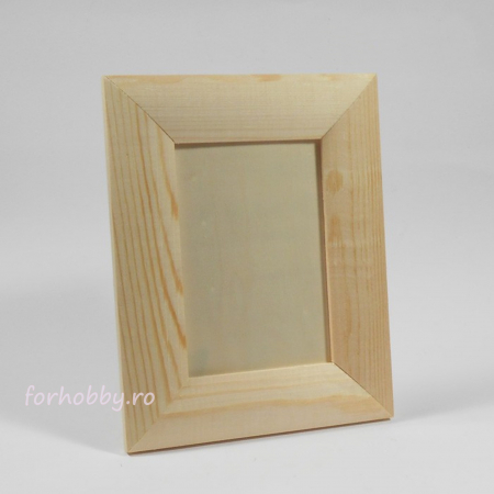 Rame foto din lemn natur - Dreptunghiular1