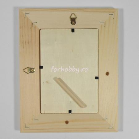 Rame foto din lemn natur - Dreptunghiular3