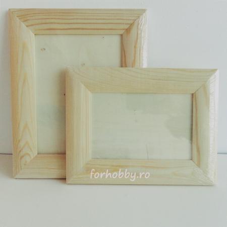 Rame foto din lemn natur - Dreptunghiular0
